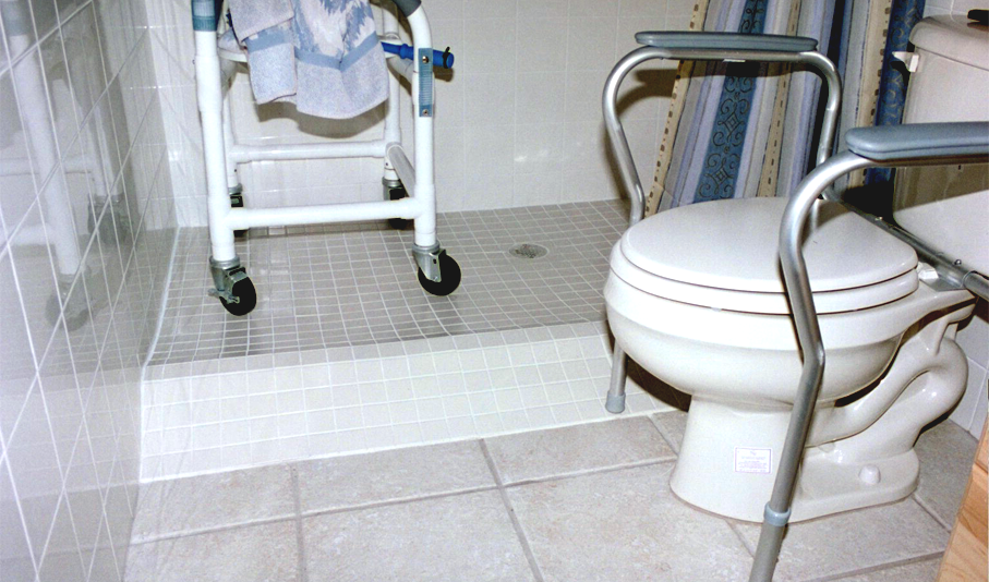 bathroom for handicap